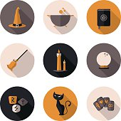 icons magic in vector format