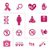 Icons of Breast Cancer Awareness