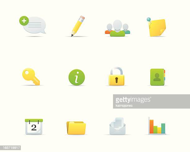 icons - online community and forum - video editing stock illustrations, clip art, cartoons, & icons