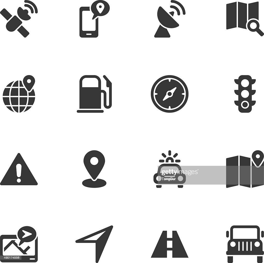 GPS icons - Regular