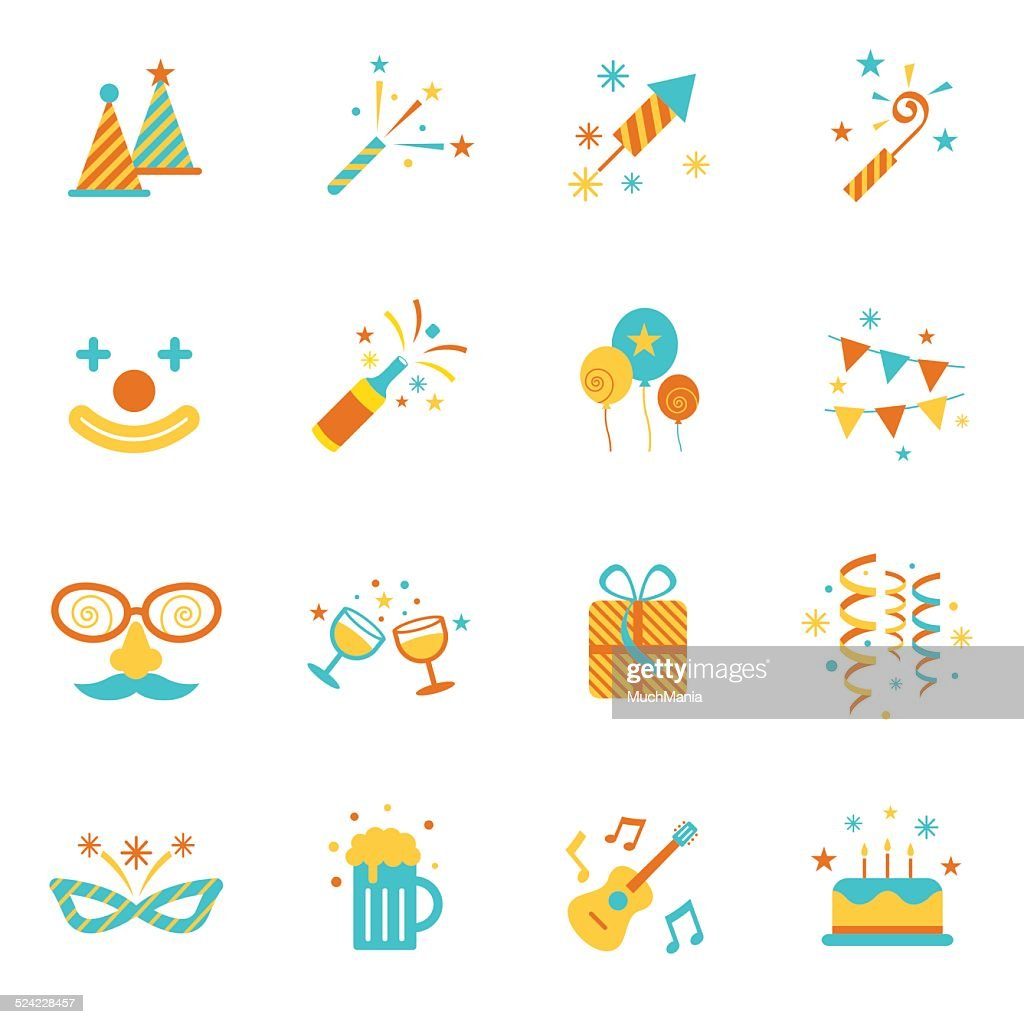 Icons Set : Party