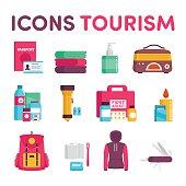 Icons tourism