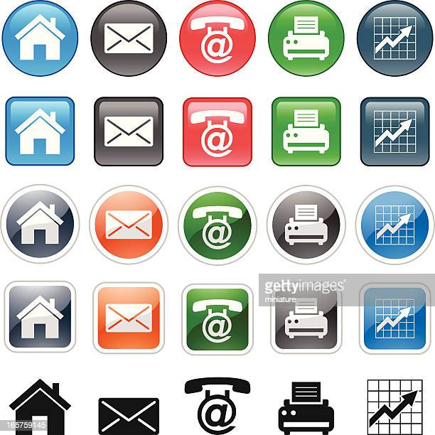 icons - answering machine stock illustrations, clip art, cartoons, & icons