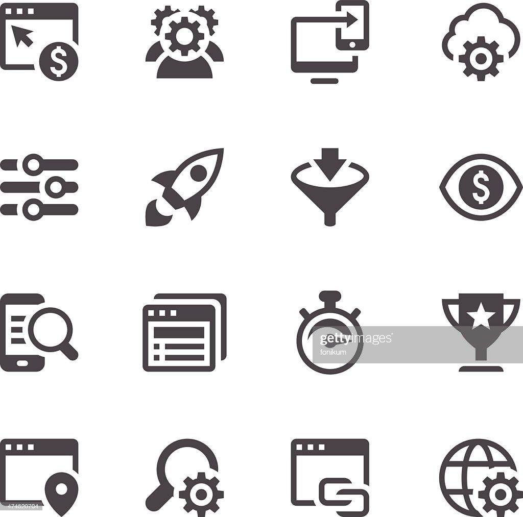 SEO Icons : stock illustration