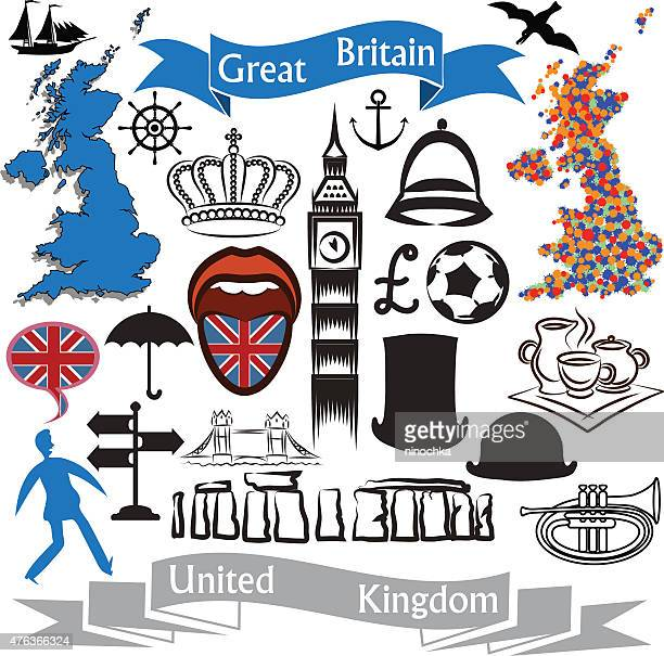 uk icons - megalith stock illustrations, clip art, cartoons, & icons