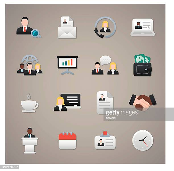 hr icons - new hire stock illustrations