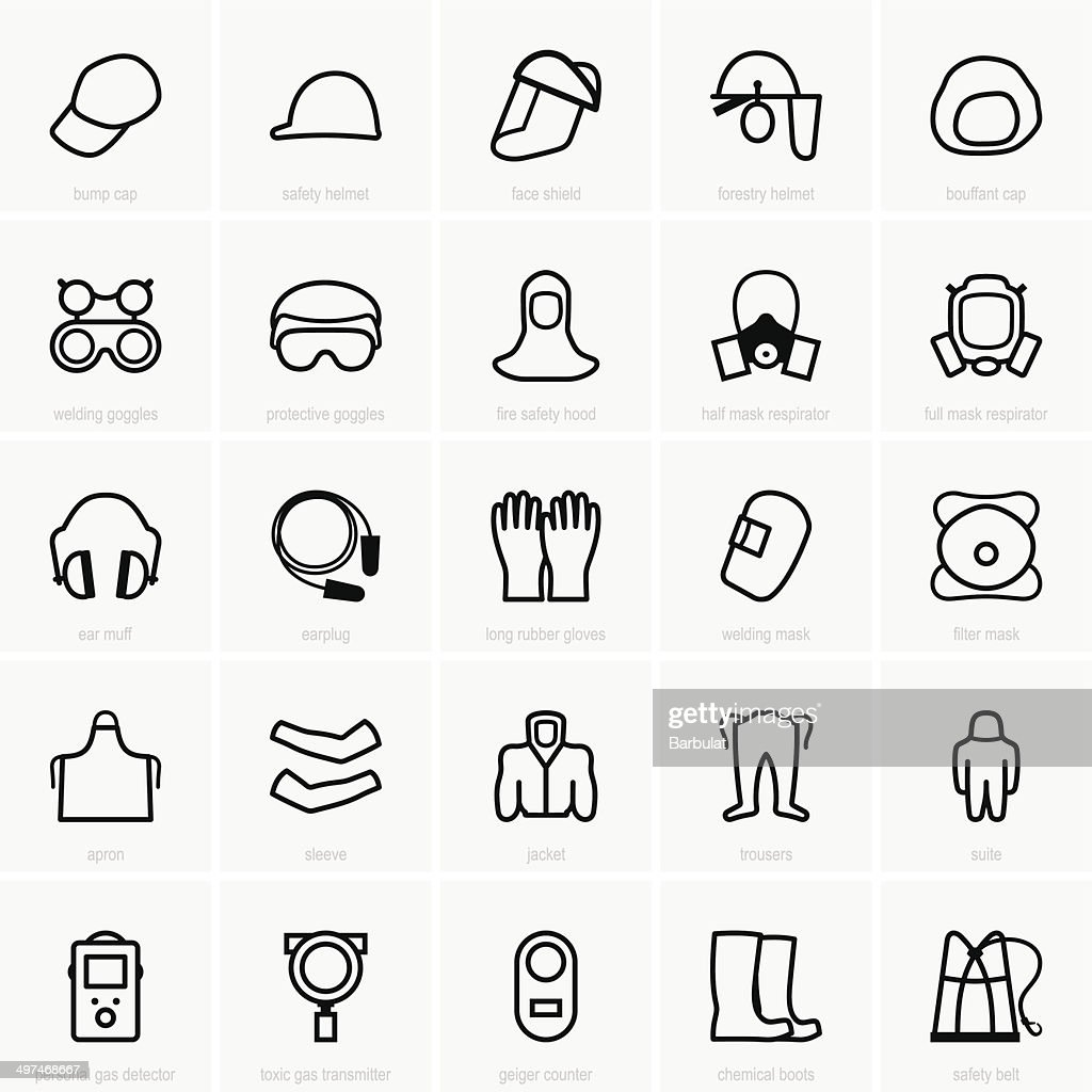 PPE icons
