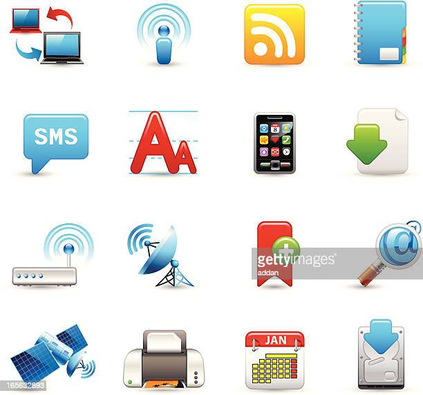 Icons - Wireless and Communications