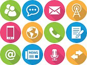 Iconset - flat - Communication 01