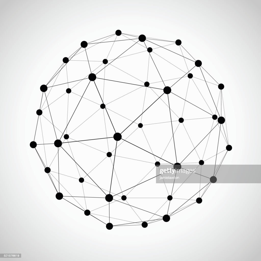 Icosahedron : Stock Illustration