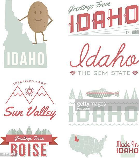 Idaho Typography