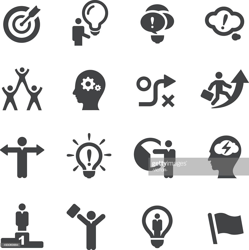 Idea and Creativity Icons - Acme Series : Stock Illustration