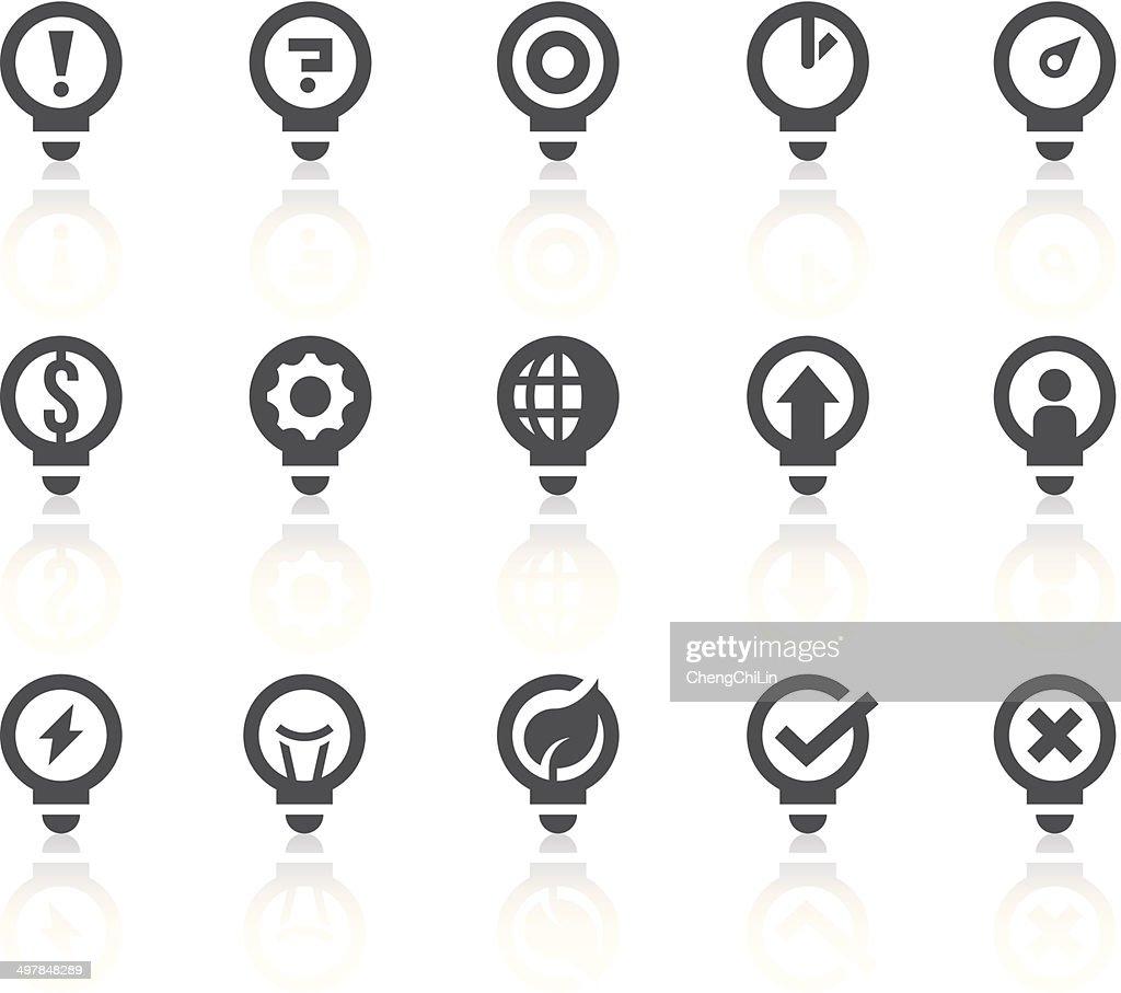 Idea Icons | Simple Black Series