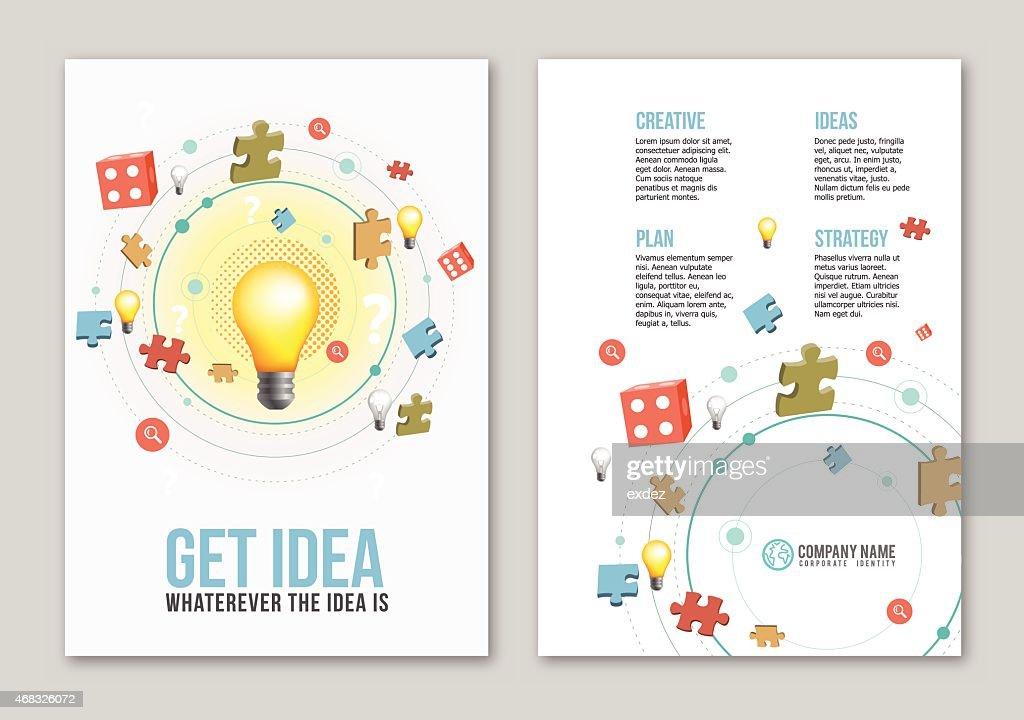 Idea print design