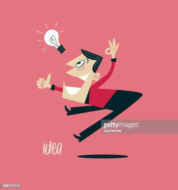 idea - self improvement stock illustrations