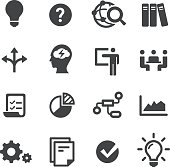 Idea Workflow Icons - Acme Series