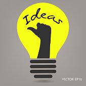 ideas concepts , creative sign