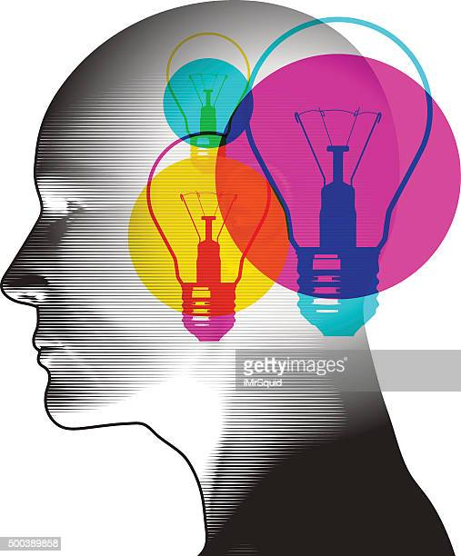 ideas potential - mindfulness stock illustrations, clip art, cartoons, & icons
