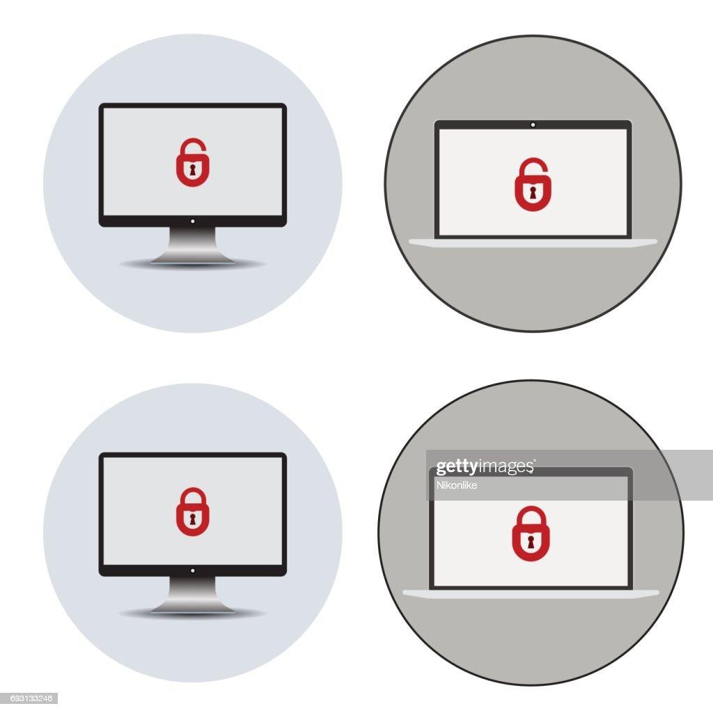 Identifying a computer virus.