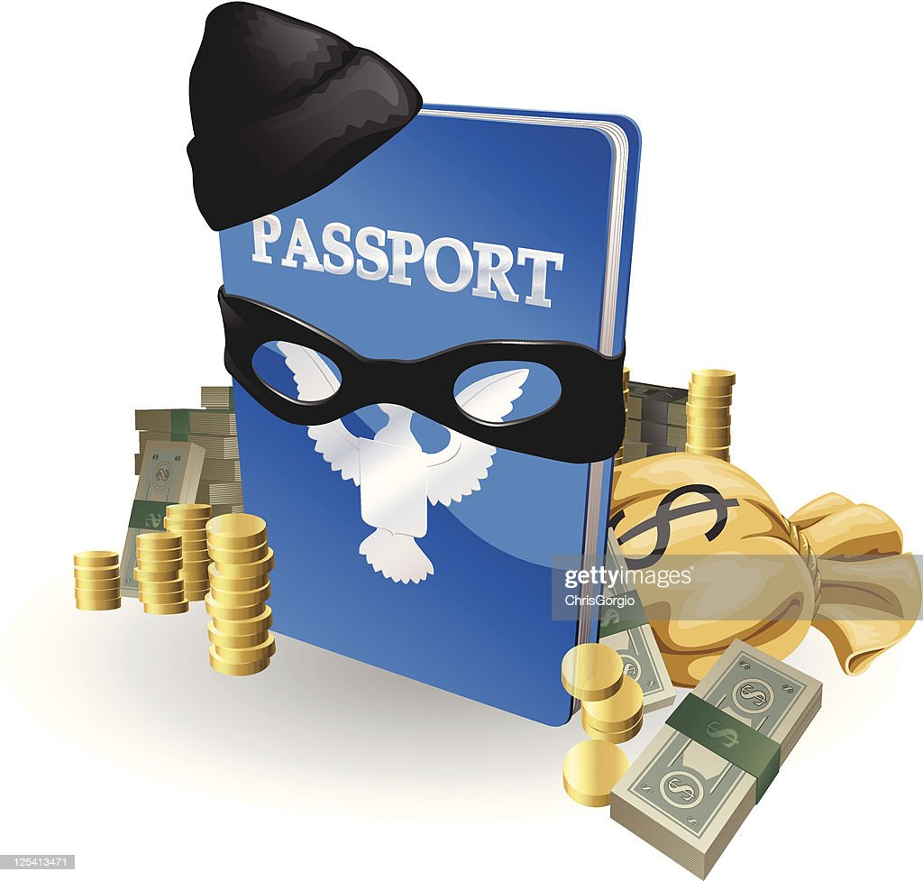 Identity theft concept