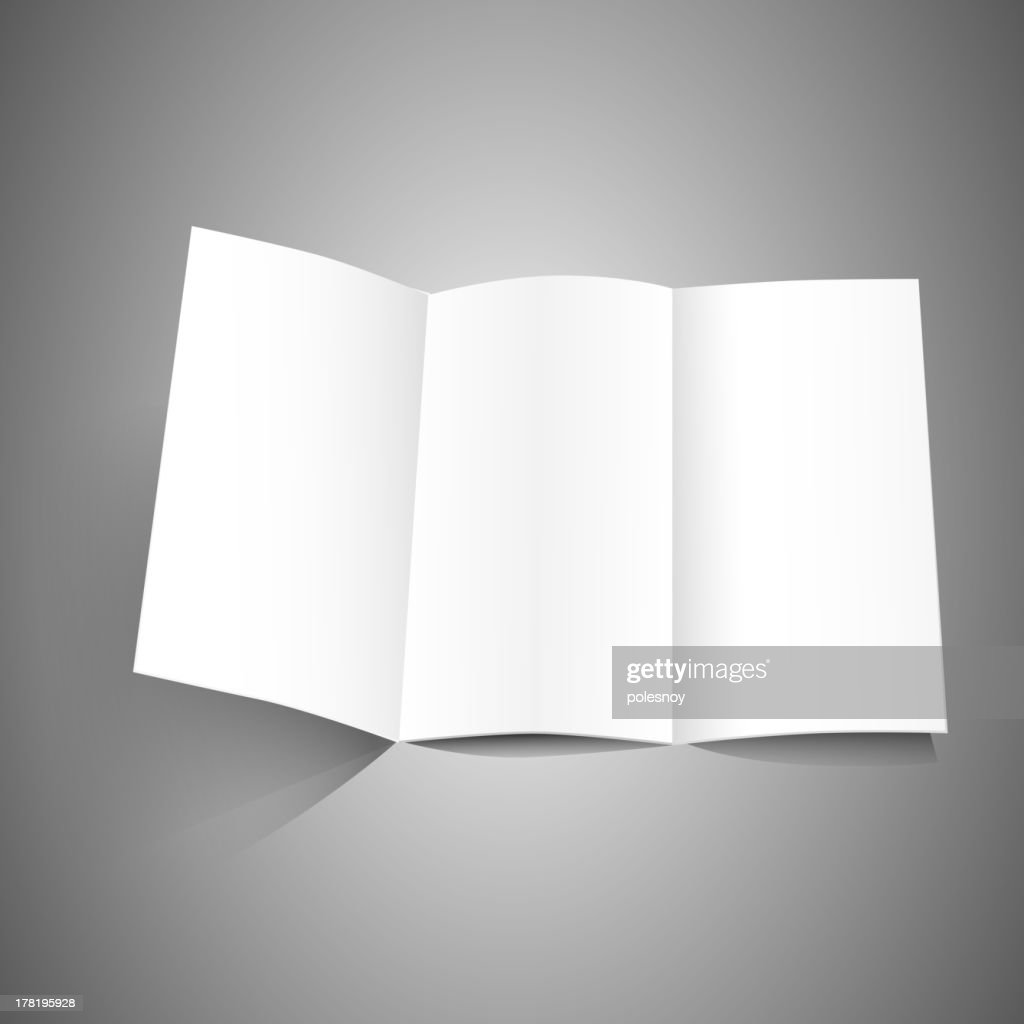 identity white leaflet