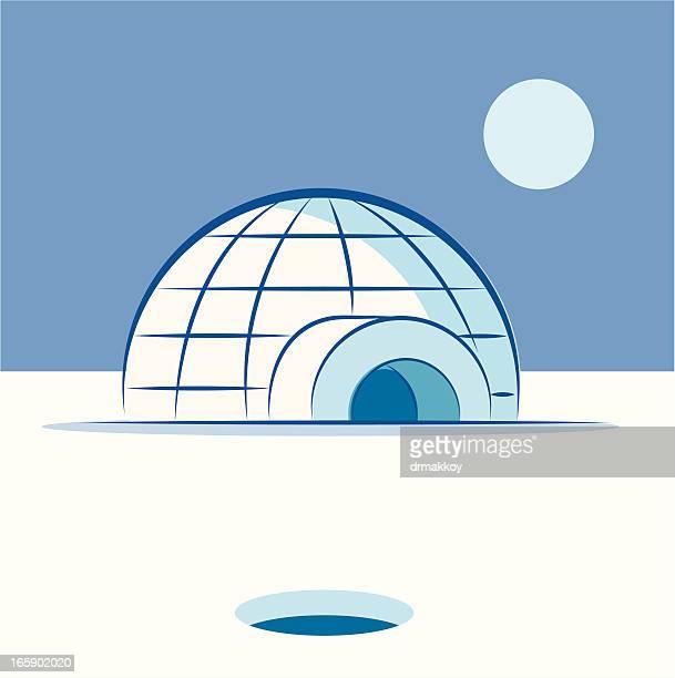 illustrations, cliparts, dessins animés et icônes de igloo - igloo
