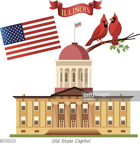 Springfield illinois stock illustrations and cartoons getty images illinois state capitol malvernweather Image collections