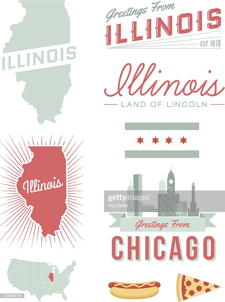 Illinois Typography