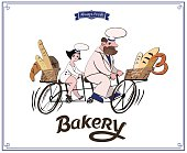 Illustrated logo for Family Bakery