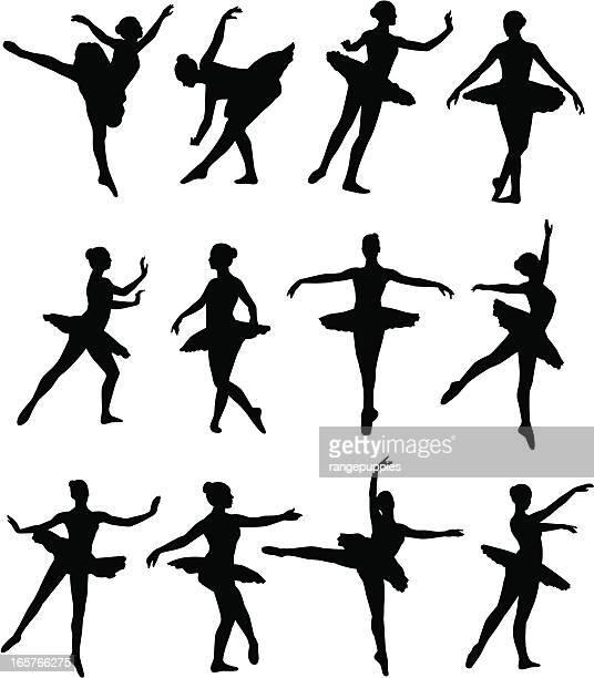 ilustrações, clipart, desenhos animados e ícones de dançarina de balé - arte, cultura e espetáculo