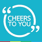 CHEERS TO YOU Illustration design