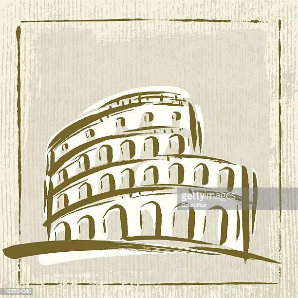ilustrações, clipart, desenhos animados e ícones de itália marco - roman