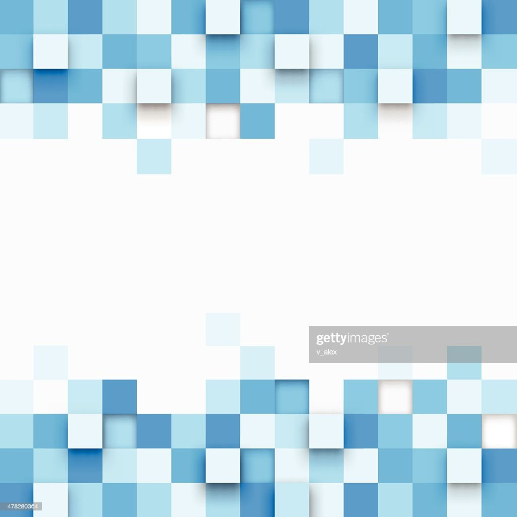 Illustration of abstract texture with squares