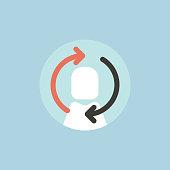Illustration of avatar icon