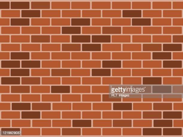 レンガ壁背景テクスチャの図 - 煉瓦点のイラスト素材/クリップアート素材/マンガ素材/アイコン素材