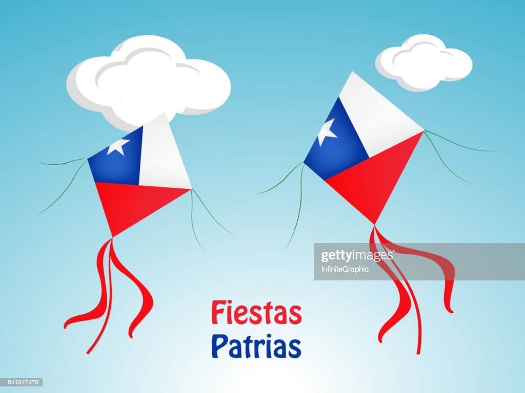 illustration of Chile's National Independence Day Celebration