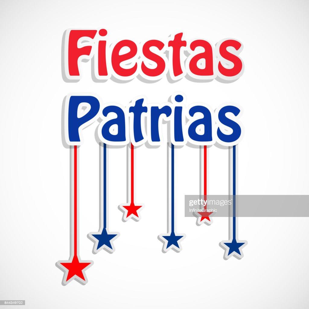 illustration of Chile's National Independence Day Celebration