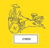 Illustration of Cyrus