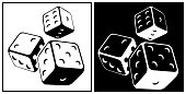 Illustration of dices
