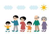 Illustration of Family