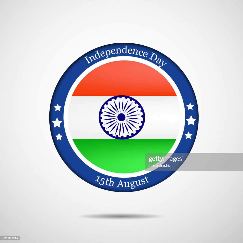 illustration of India Independence day background