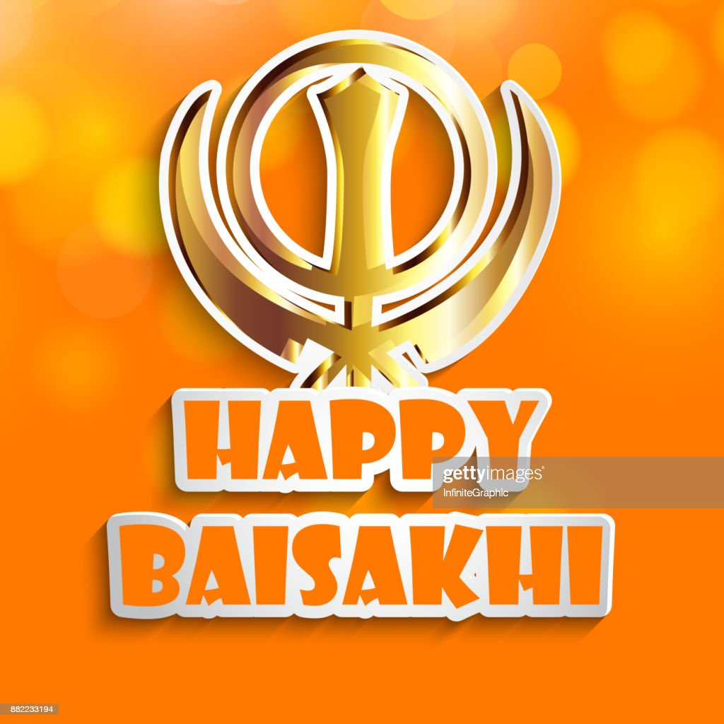 illustration of Indian festival Baisakhi background