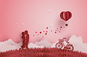 Illustration of Love and Valentine day