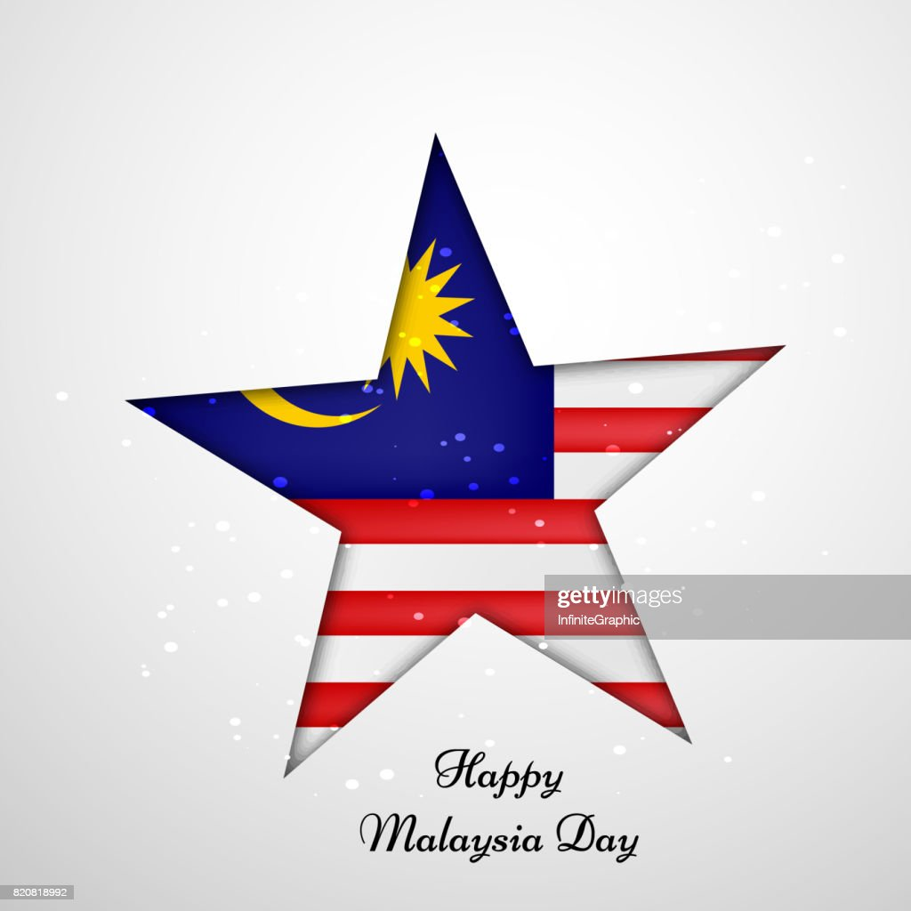 illustration of Malaysia Day Background