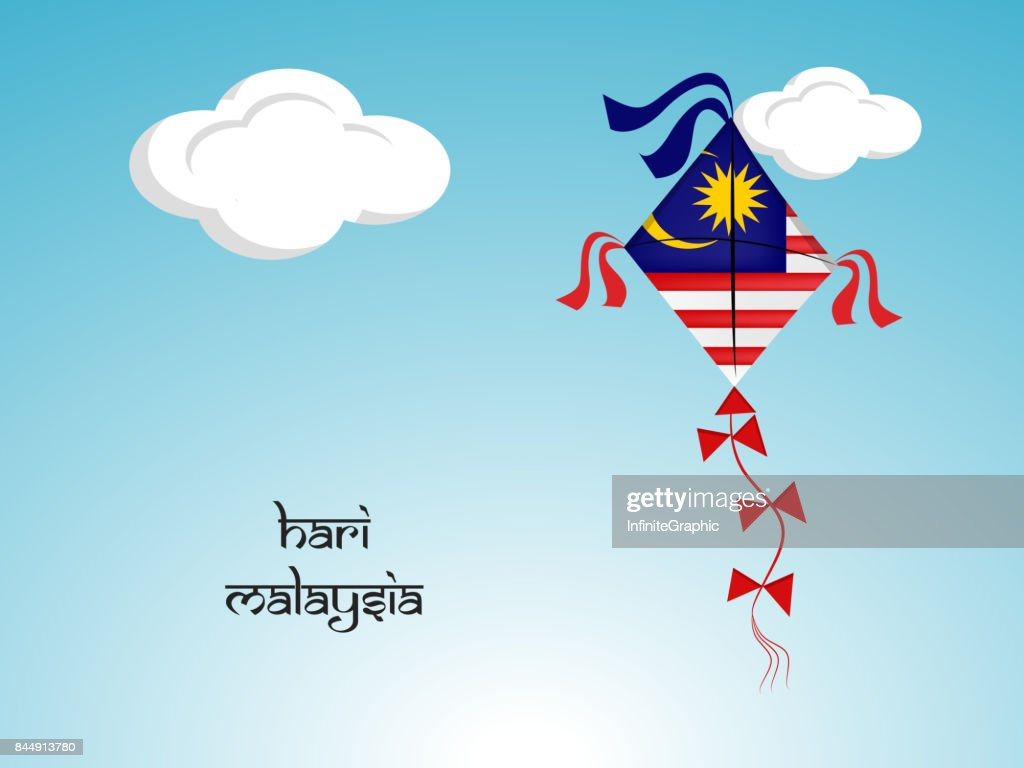 illustration of Malaysia Independence Day background