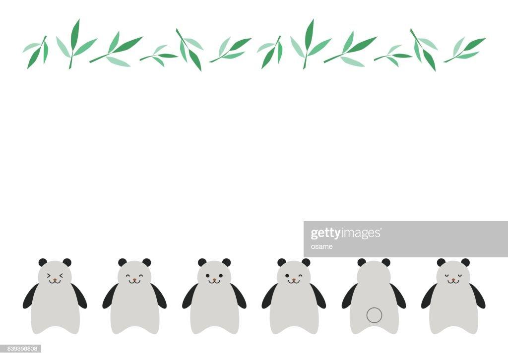 Illustration of panda
