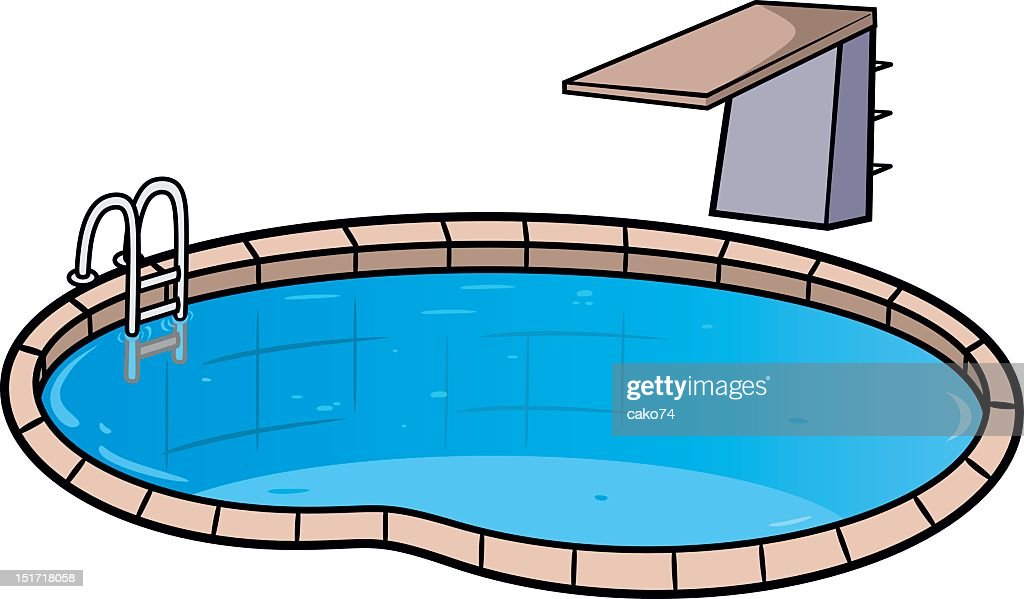 Diving Board Premium Stock Illustrations - Getty Images