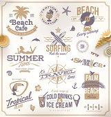 Illustration of travel icons against white background