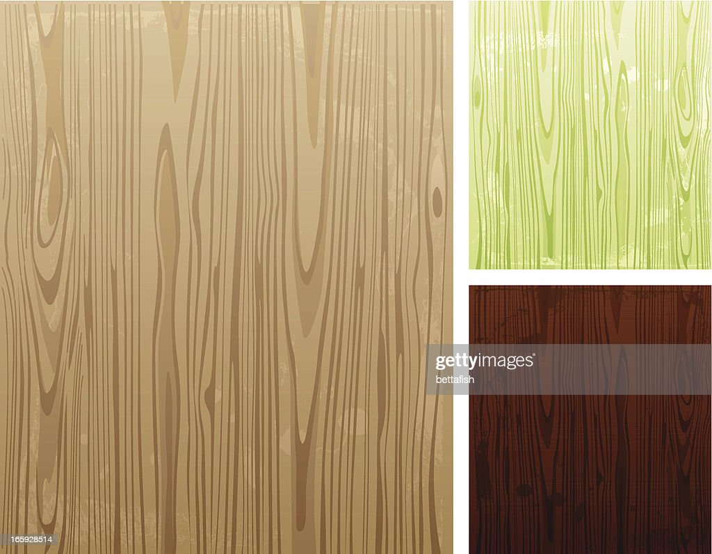 Illustration of various colored wooden backgrounds