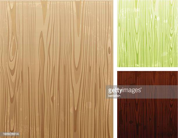 illustration of various colored wooden backgrounds - wood grain stock illustrations